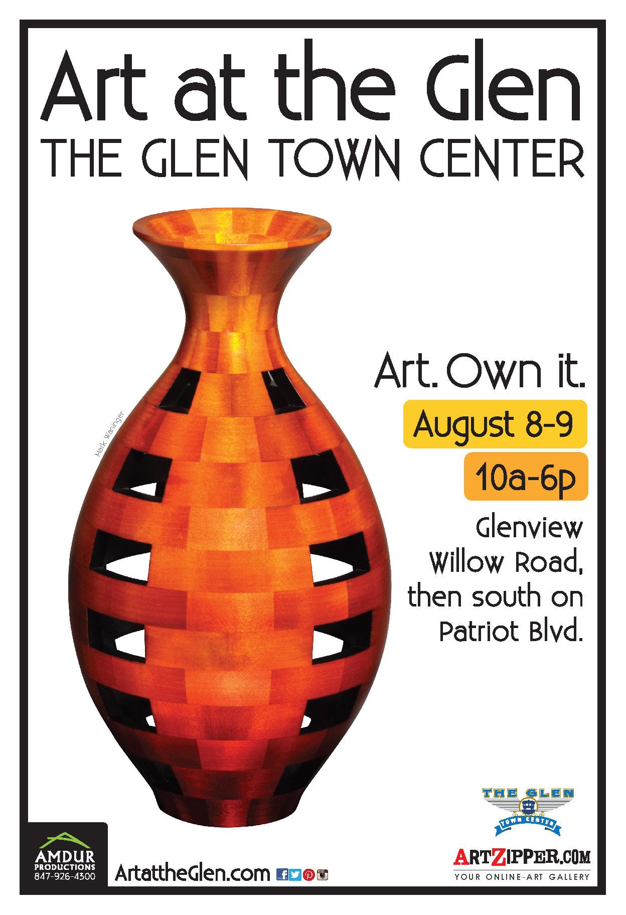 Art at the Glen Poster
