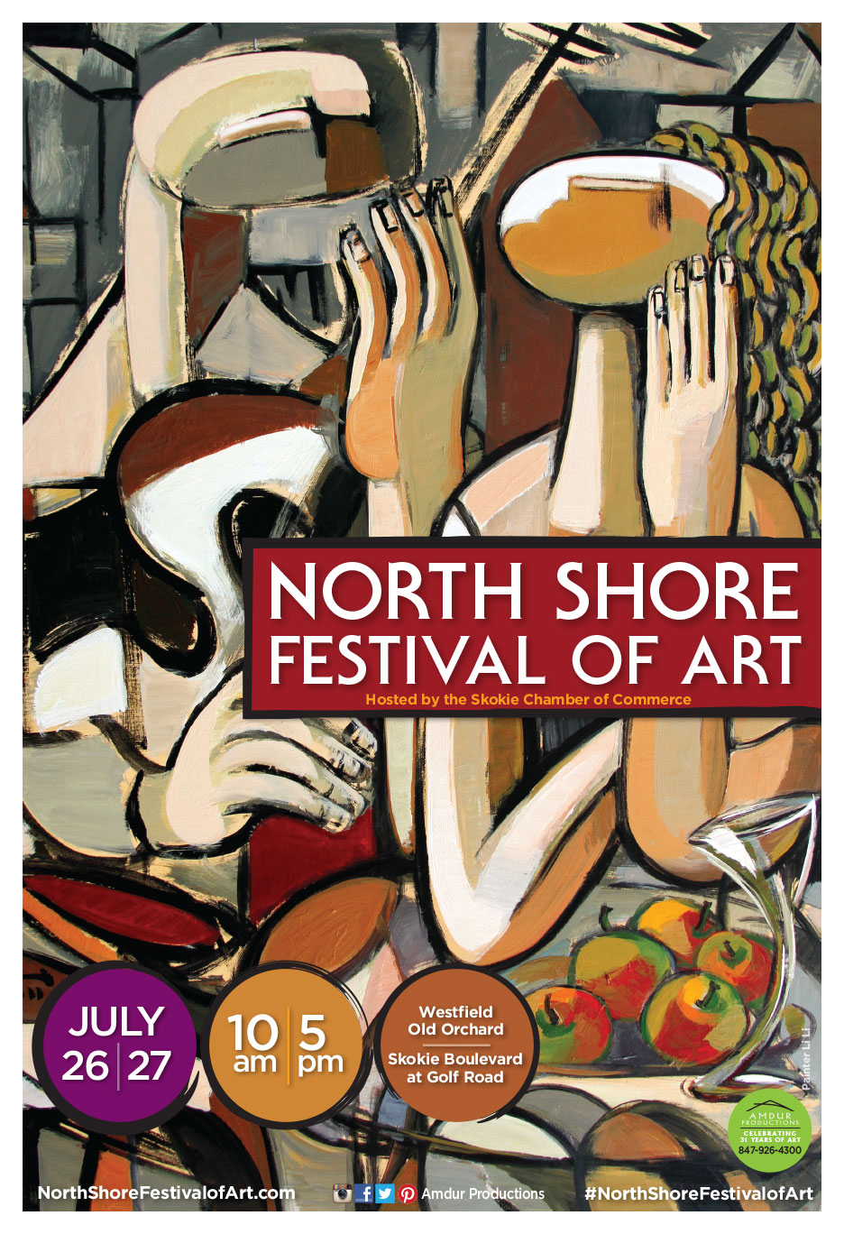North Shore Art Festival Poster