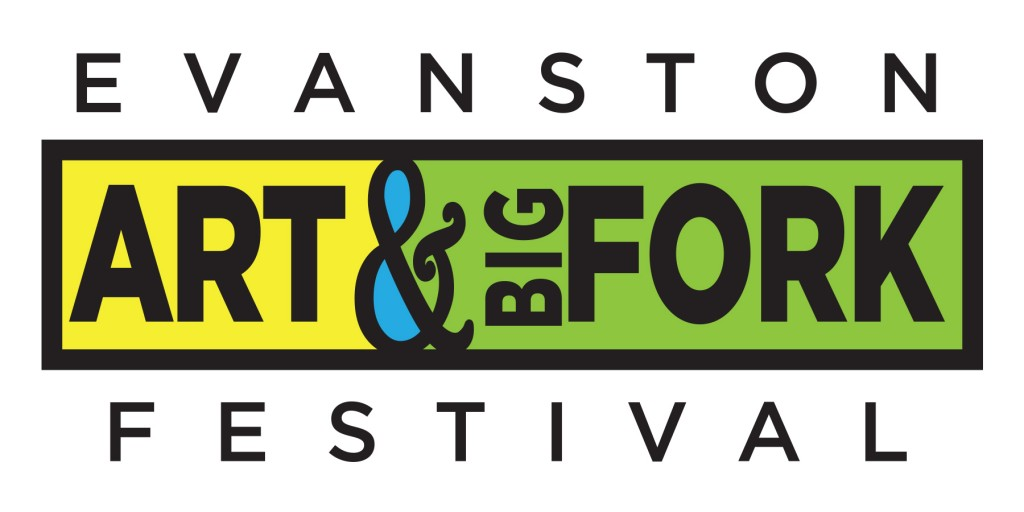 Evanston Art and big fork