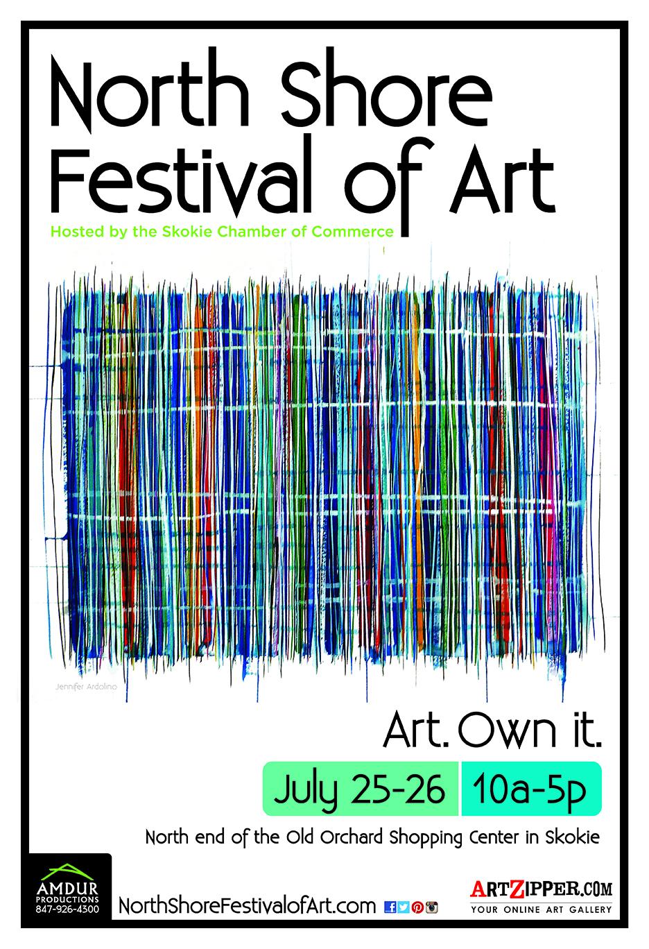North Shore Art Festival Poster