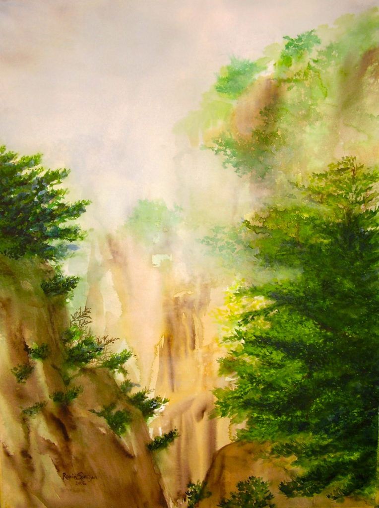 Robin Samiiljan Painting: Watercolor image 1