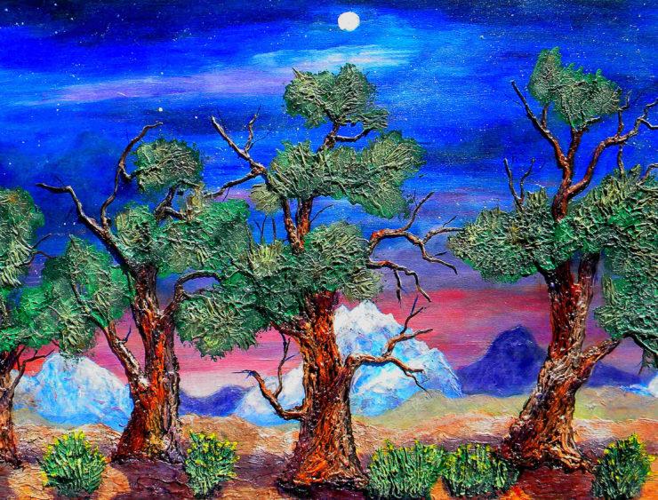 ROLLEY BATEMAN III Painting: Acrylic Paint image 1