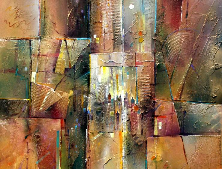 JOHN BLOWERS Painting: Acrylic Paint image 1