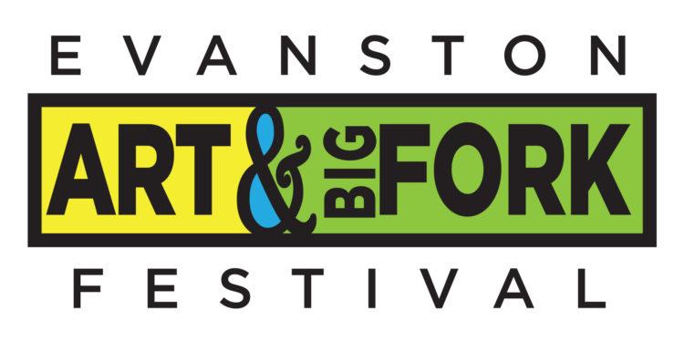 Evanston Art & Big Fork Festival Logo