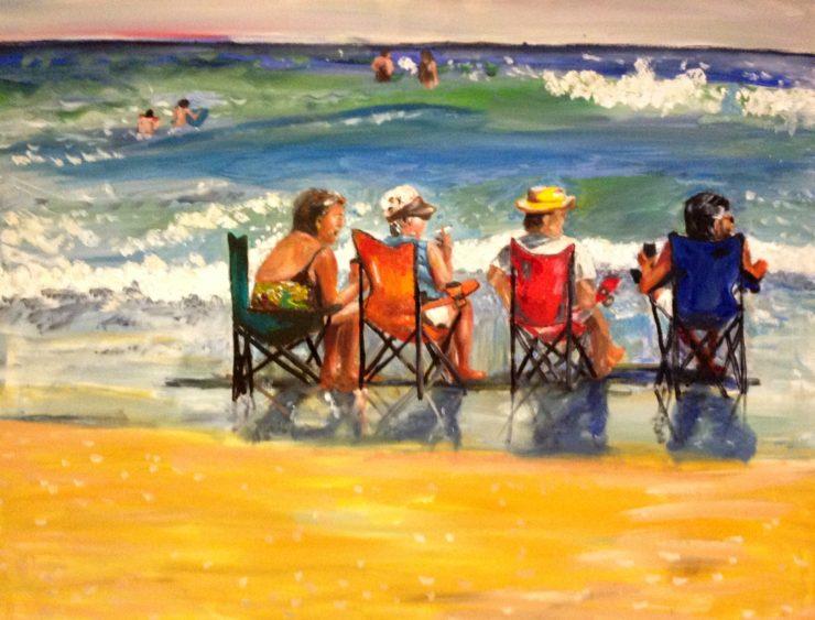 Marlene Kurland Painting: Oil Paint image 1