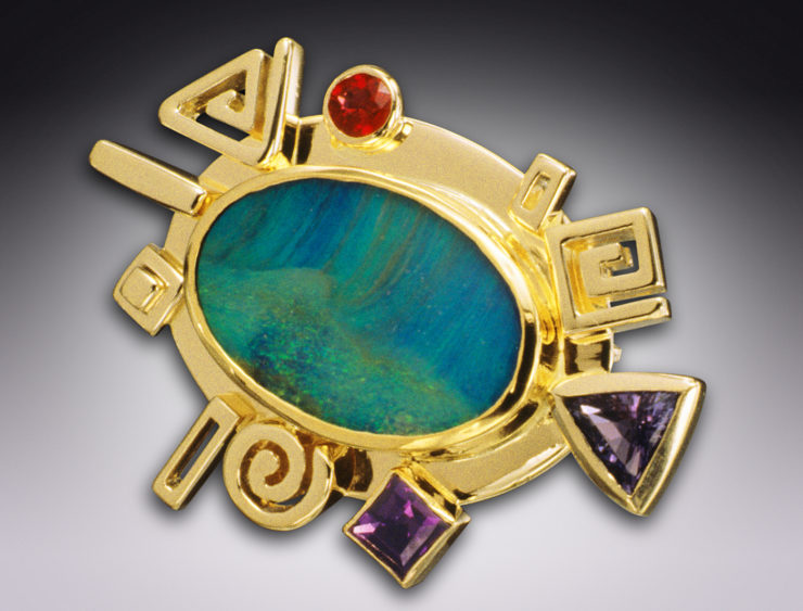 JOAN MICHLIN Jewelry Maker & Designer: Gold and/or Silver image 1