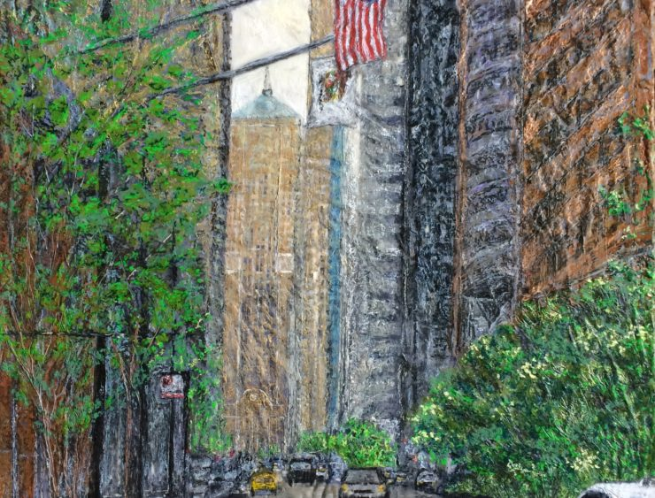 Robin Samiiljan Painting: Mixed Media image 1