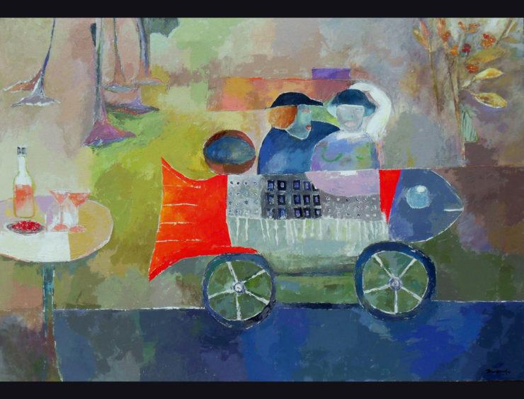 ZUXIN YU Painting: Acrylic Paint image 1