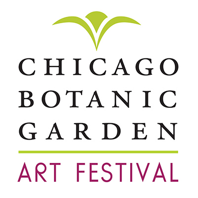 Chicago Botanic Garden Art Festival Logo