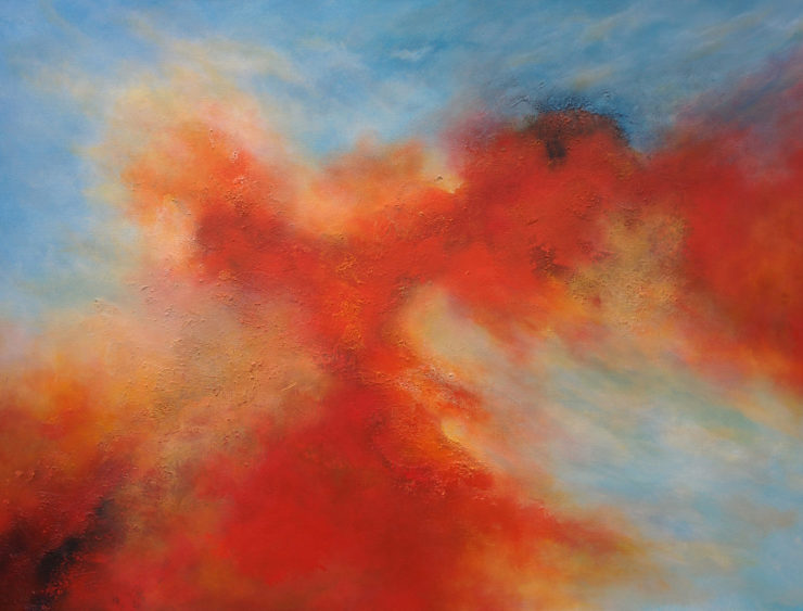 David Abrahamson Painting: Acrylic Paint