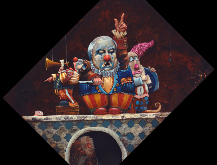 R. L. Alexander Painting: Oil Paint