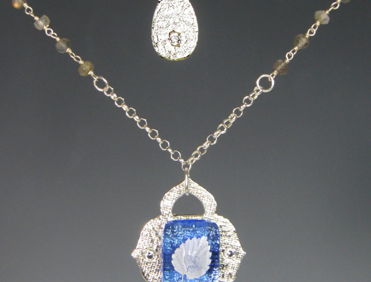Jacqueline Bevan Jewelry: Glass