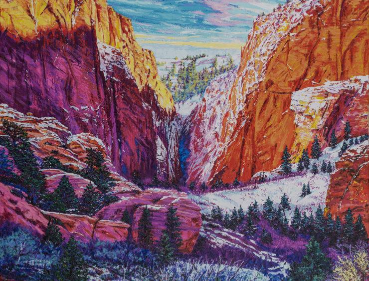 Darien Bogart Painting: Acrylic Paint