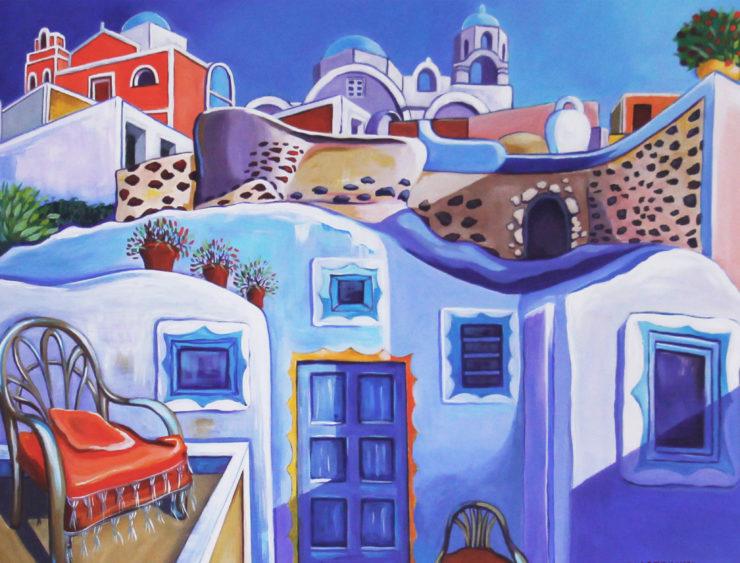 Jacqueline Cabessa Redlich 2D: Acrylic Paint