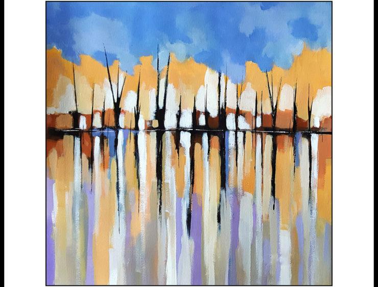 John Chehak Painting: Acrylic Paint
