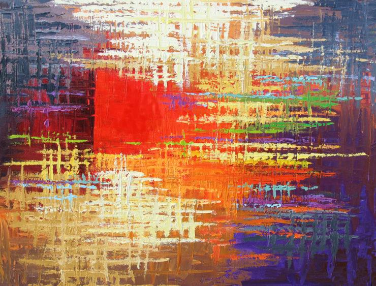 Derek Collins 2D: Acrylic Paint
