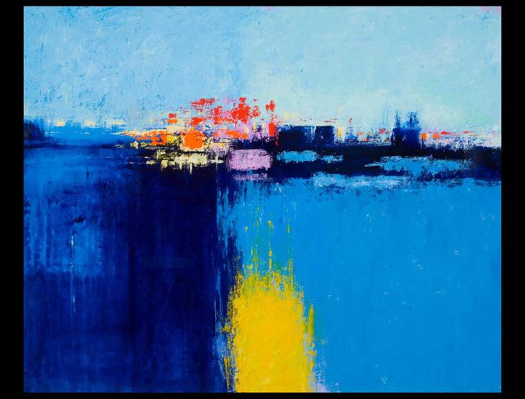 Ummarid Eitharong Painting: Acrylic Paint