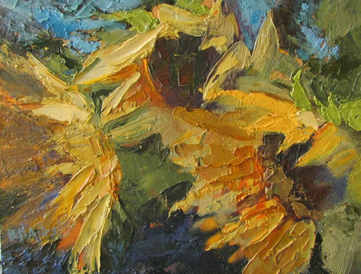 Beth Forst Painting: Oil Paint