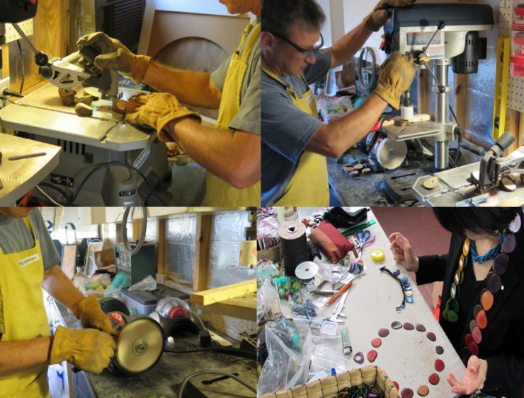 Masako Friedenberg Jewelry Maker & Designer: Mixed Media