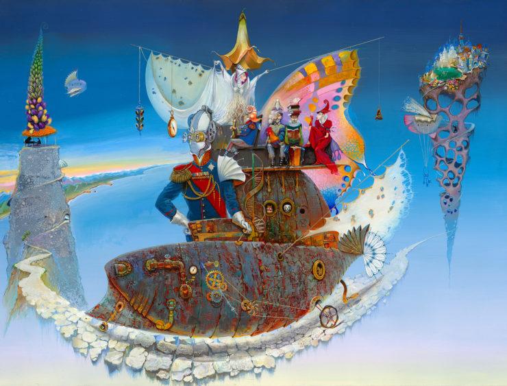 Vladimir Pailodze Painting: Oil Paint