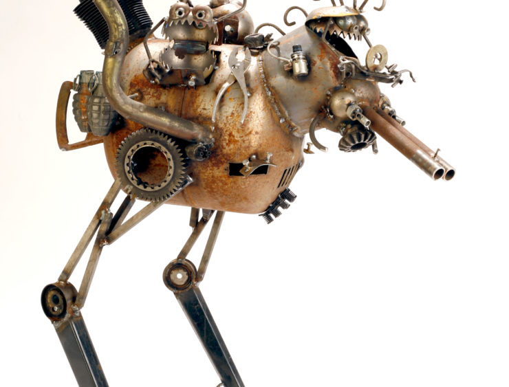 Juan Pollock 3D Non Functional: Metals