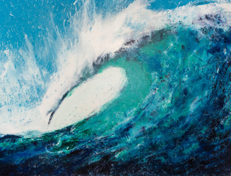 Leon Ruiz 2D: Acrylic Paint