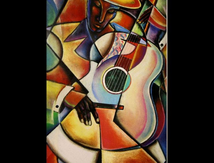 Frank Sowells Jr. 2D: Acrylic Paint