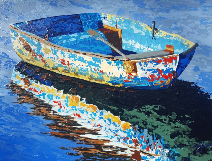 Patrick Sweeney 2D: Acrylic Paint