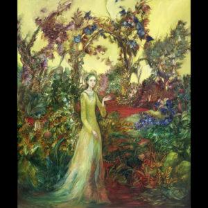 Alla Tsank Painting: Oil Paint