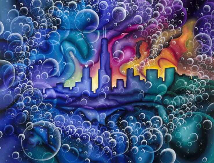 Peter Thaddeus 2D: Acrylic Paint