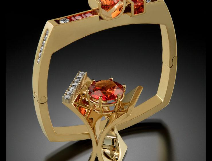 Robert Trisko Jewelry: Gold/Silver