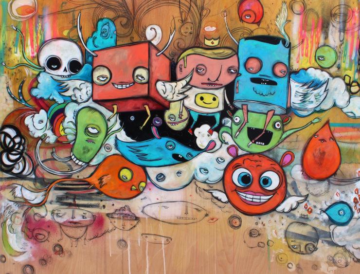 Chris Vance 2D: Acrylic Paint