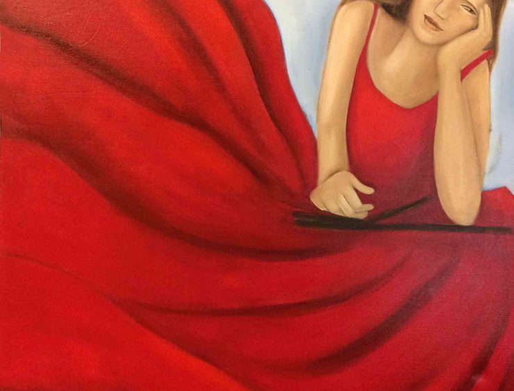 Maria Segovia Painting: Oil Paint